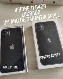iPhone 11 64GB Lacrado