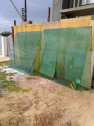 Vidros temperado para muro..