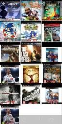 Vendo vários jogos