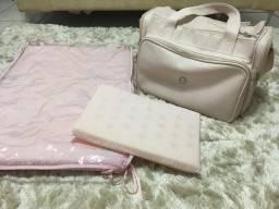 Bolsa Maternidade + Trocador + Travesseiro
