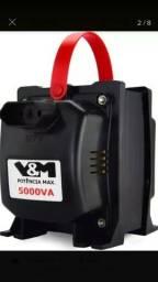 Transformador 5.000VA SPLIT 110/220V