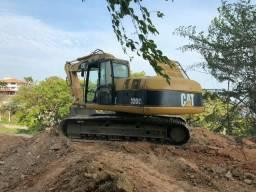 Escavadeira 4x4 cat 2012 alugo ou vendo