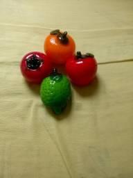 Frutas de vidro