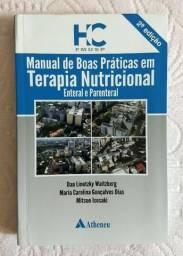 Livro usado - Manual de boas práticas em TN enteral e parenteral