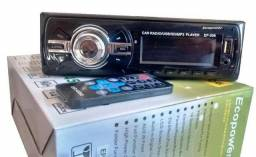 Mp3 Usb Aux Radio Carro Media Receiver Automotivo