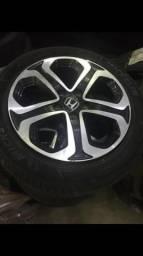 Roda aro 17 Pneus Honda hrv e peças