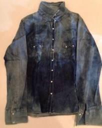 Camisa Jeans feminina veste 38-40