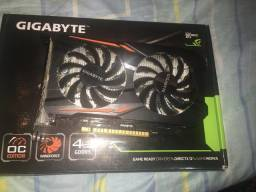 Placa de vídeo 1050 ti 4Gb DDR5 128bits