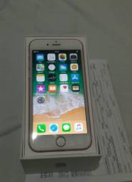 Iphone 6s 128 GB rosé completo.