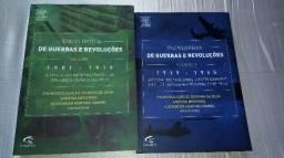 Enciclopédia de Guerra e Revoluções em 2 volumes