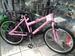Bike aro 24 rosa NOVA -Junior Bikes-