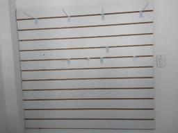 Painel Canaletado - 1,30 x 1,20 + 10 ganchos