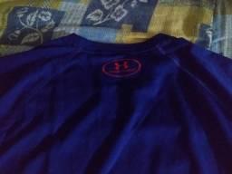 Camiseta Under Armour Superman 2.0 Masculina - Marinho