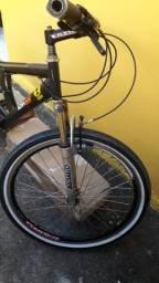 Bicicleta toda no rolamento