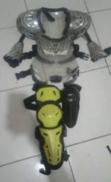 Equipamento motocross (usados só 1 vez)