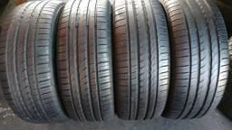 Quatro pneus 225/50/17 Pirelli P1 semi novo