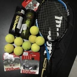 Kit Raquete de Tênis Wilson