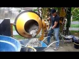 Betoneira 400 litros betoneira construção reforma pedreiro engenheiro civil mestre de obra