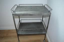 643c8a47ff45 Carrinho estante zinco Tok Stok bar industrial metal