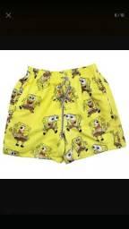 Shorts Desenho animado