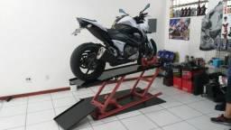 Elevador de motos 350 kg de fabrica 24h zap