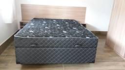 Cama casal/ viuva box baú conjugado direto de fabrica 12 parcelas de R$ 89.00