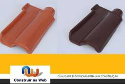 Telha Portuguesa Natural e Esmaltada - Direto da Ceramica