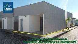 Casa nova com 02 qtos no Bairro São Jacinto