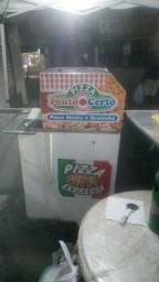 Vendo carrinho de pizza.