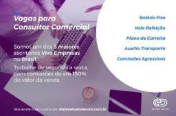 Vaga - Consultor Comercial