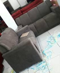 R$ 649,90 sofá 2 e 3 lugares