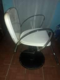 Cadeira para salão de cabelo
