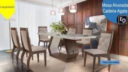 Mesa Jantar 6 cadeiras alto padrão