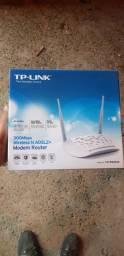 Modem e roteador TP-link