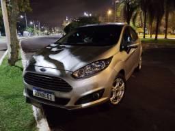 Ford New Fiesta 2015 SE Prata Completo
