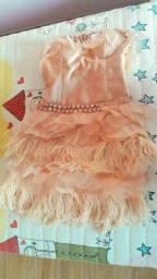 VENDO OU TROCO-Vestido lindo maravilhoso...super barato