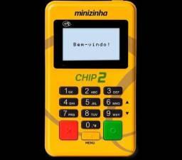 Maquininha de cartão Mini chip 2 pag seguro