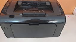 impressora HP laserjet P1102 w / monocromática