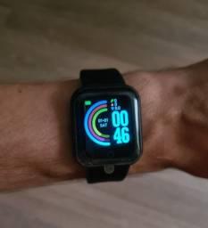 Smartwatch Y68 / D20 Relógio Inteligente - 2x sem juros