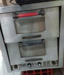 Forno de pizza eletrico de lastro