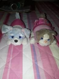 Furreal Friends- gatinho e cachorrinho