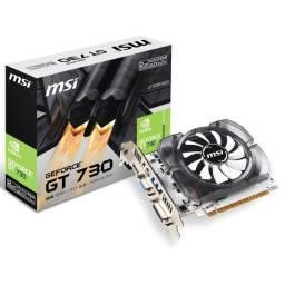 Placa de vídeo Gamer Geforce GT 730 2Gb MSI