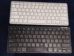 Dois teclados bluetooth (sem fio)