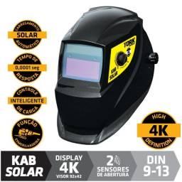 Máscara De Solda Com Escurecimento Automático Kab Solar Tork