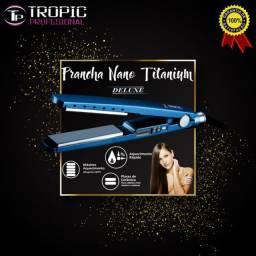 Chapinha tropic profissional Tp-1968 nano titanium bivolt azul