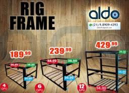 Suporte de Mineração Rig Frame diversos tamanhos.