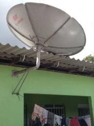Antena da sky apenas 90 semi nova