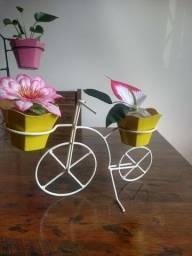 Suporte de vazos bicicleta
