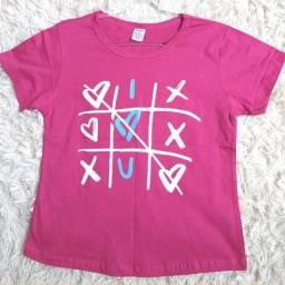 Título do anúncio: Camiseta Jogo do Amor - [Tamanho P]