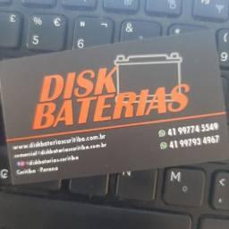 Bateria para carro Disk Baterias!